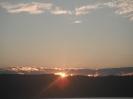 solnedgang fra Halden under en liten kystmeite økt